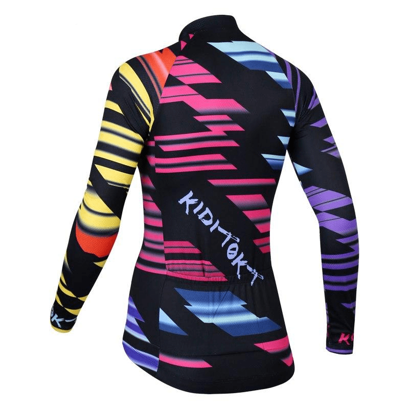 Maillot cycliste Hiver thermique femme sharko (1704874082393)