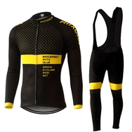Ensemble maillot + cuissard thermique hiver homme PHTX