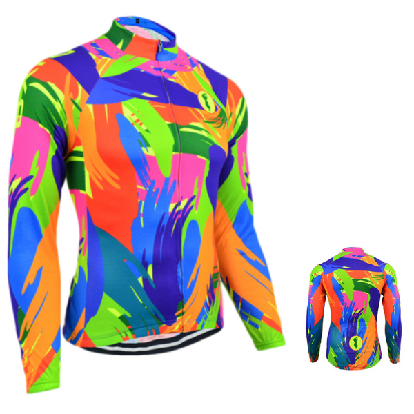 Maillot cycliste thermique Hiver Colorfull (1704725020761)