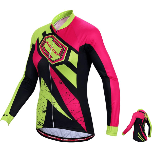 maillot cycliste hiver thermique femme Allstar (1704835252313)