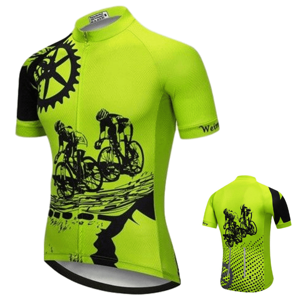 Maillot manches courtes de cyclisme Cycled