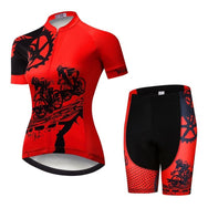Ensemble court maillot + cuissard de cyclisme Power (785206542425)