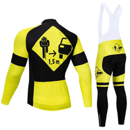 Ensemble long maillot + cuissard de cyclisme Securitas