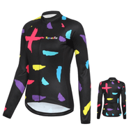 maillot cycliste hiver thermique femme Indo