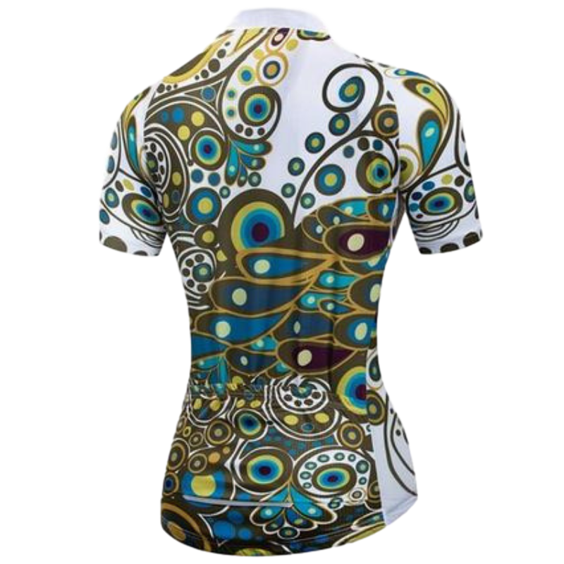 MAILLOT MANCHES COURTES DE CYCLISME SIKA