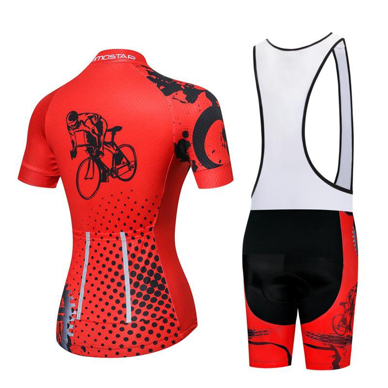 Ensemble court maillot + cuissard de cyclisme Power