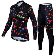 Ensemble maillot + cuissard thermique hiver femme Painty