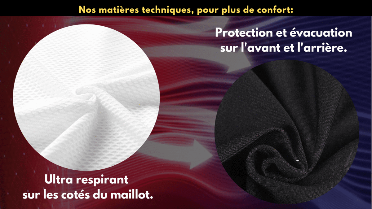 ENSEMBLE COURT MAILLOT + CUISSARD CYCLING N°5 (2032712613977)