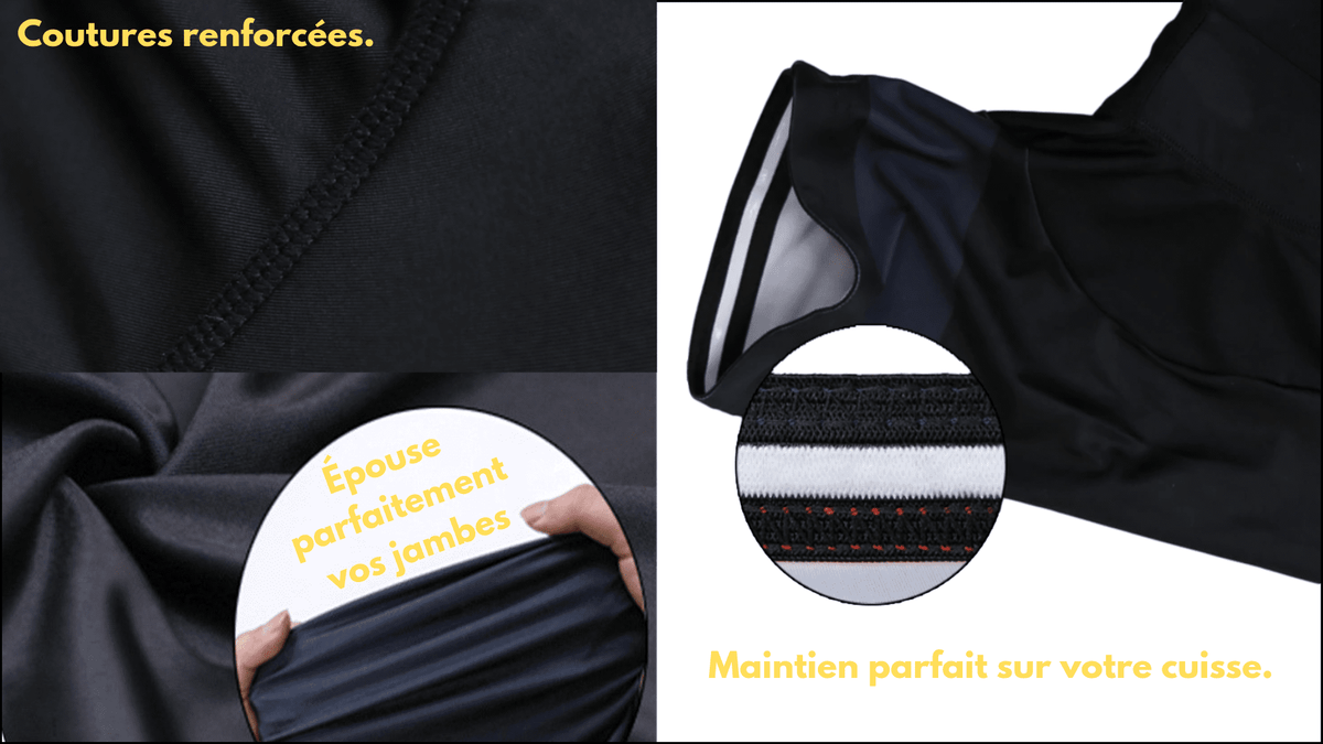 Ensemble court maillot + cuissard de cyclisme Pirate