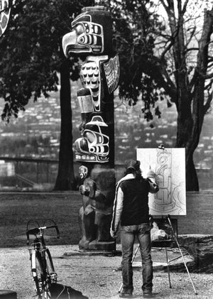 TOTEM, STANLEY PARK, VANCOUVER