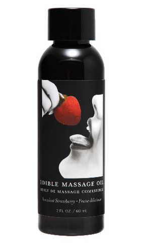 2 Ounce Edible Massage Oil