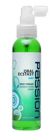Oral Ecstasy Mint Flavored Deep Throat Numbing Spray