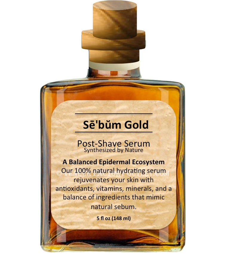 Sē'bŭm Gold Post-Shave Serum