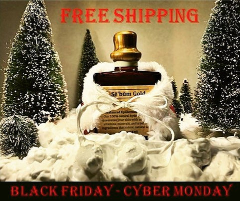 Sebum Gold Post-Shave Serum (mens grooming) anti-aging skin care Free Shipping Black Friday & Cyber Monday Promotion