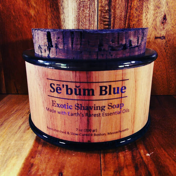 Sē'bŭm Blue Exotic Shaving Soap (7oz)