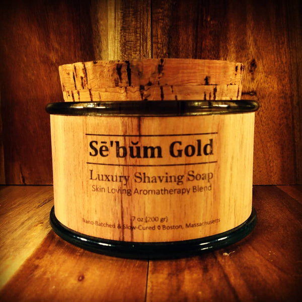 Sē'bŭm Gold Luxury Shaving Soap (7oz)