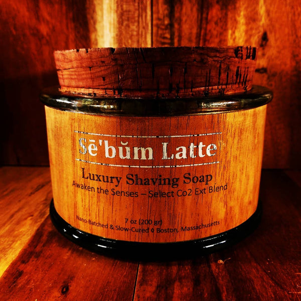 Sē'bŭm Latte Luxury Shaving Soap (7oz)