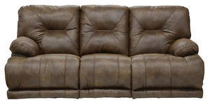 438 Voyager Elk Reclining Sofa with Drop Down Tray + 3 Recliners! - Cox Furniture and Flooring