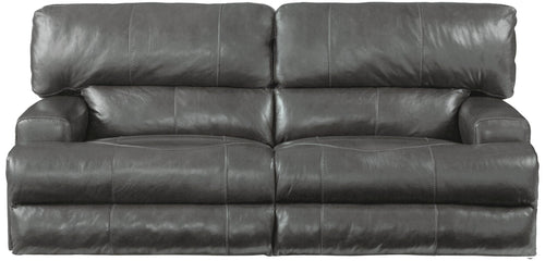 458 Wembley Power Sofa w/Heardest and Lumbar - Cox Furniture and Flooring