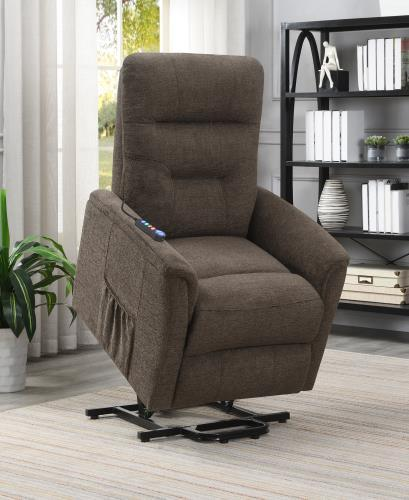 609404P Lift Chair with Heat and Massage - Cox Furniture and Flooring