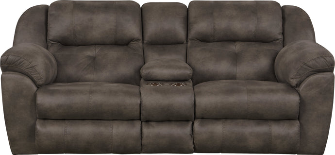 6189 Ferrington Dusk Power Reclining Loveseat with Power Headrest - Cox Furniture and Flooring