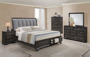6580 Jaymes Queen Bedroom Set - Cox Furniture and Flooring