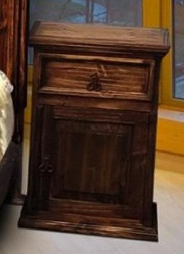 Antique Night Stand by Rustic Creations - Cox Furniture and Flooring