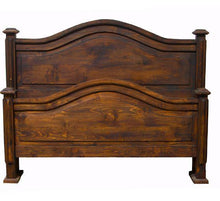 Load image into Gallery viewer, Antique Petite Bed Queen Size by Rustic Creations - Cox Furniture and Flooring