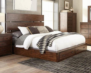 Artesia Collection Queen Storage Bed with Drawers - Cox Furniture and Flooring