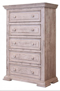 Bella Vintage White Chest by International Furniture - Cox Furniture and Flooring