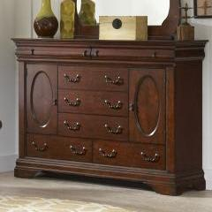 Chateau Cherry Bureau by Elements Furniture - Cox Furniture and Flooring