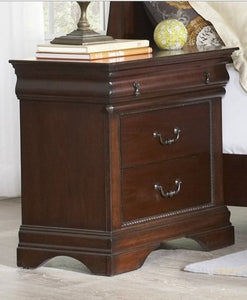 Chateau Cherry Nightstand by Elements Furniture - Cox Furniture and Flooring