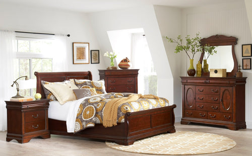 Chateau King Bedroom Set - Cox Furniture and Flooring