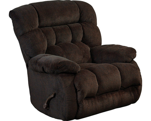 Daly Chocolate Recliner by Catnapper - Cox Furniture and Flooring