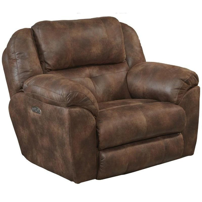 Ferrington Dusk Power Recliner with Power Headrest by Catnapper - Cox Furniture and Flooring