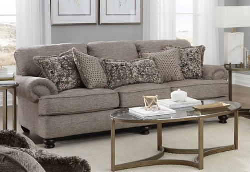 Freemont Pewter Sofa by Catnapper - Cox Furniture and Flooring
