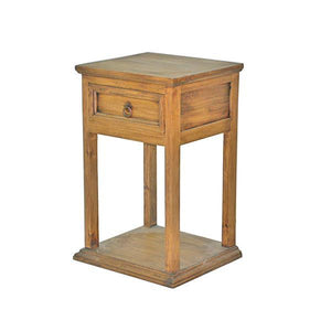 Honey Petite Nightstand by Rustic Creations - Cox Furniture and Flooring