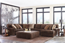 Load image into Gallery viewer, Mammoth Chocolate Sectional with Reversable Chaise - Cox Furniture and Flooring