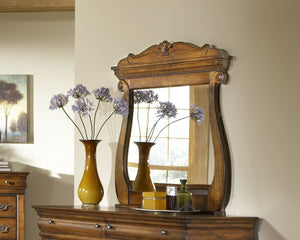 Shenandoah Oak Mirror by Elements Furniture - Cox Furniture and Flooring