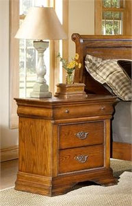Shenandoah Oak Nightstand by Elements Furniture - Cox Furniture and Flooring