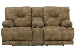 Voyager Brandy Reclining Loveseat by Catnapper - Cox Furniture and Flooring