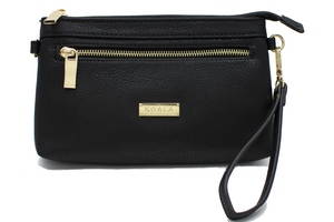 Signature Black - Magnetic Crossbody/Wristlet