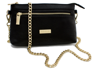 Gold Crossbody Exchangeable Strap