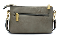 Signature Grey - Magnetic Crossbody/Wristlet