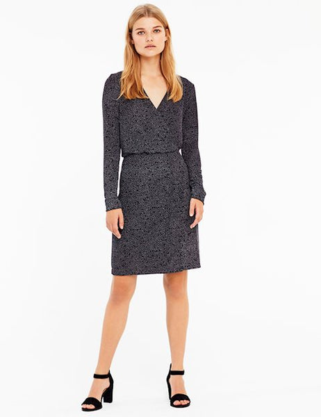mbyM black glitter wrap Dress