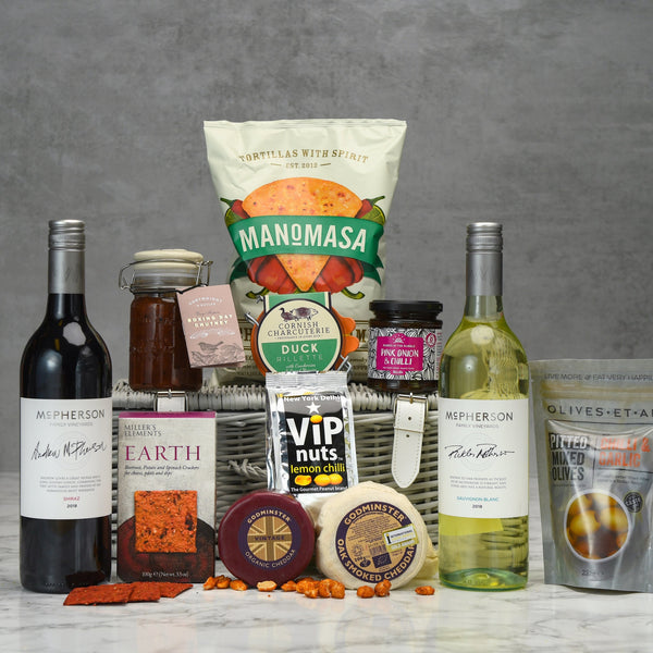 Cheese and Wine Hamper