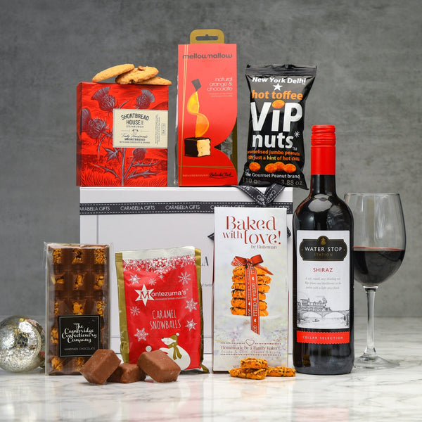 Red Wine & Treats Hamper