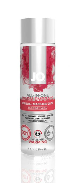 JO Warming Massage Glide 4 oz