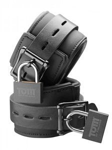 Tom of Finland Locking Wrist Cuffs