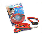 Rainbow Collar and Leash set